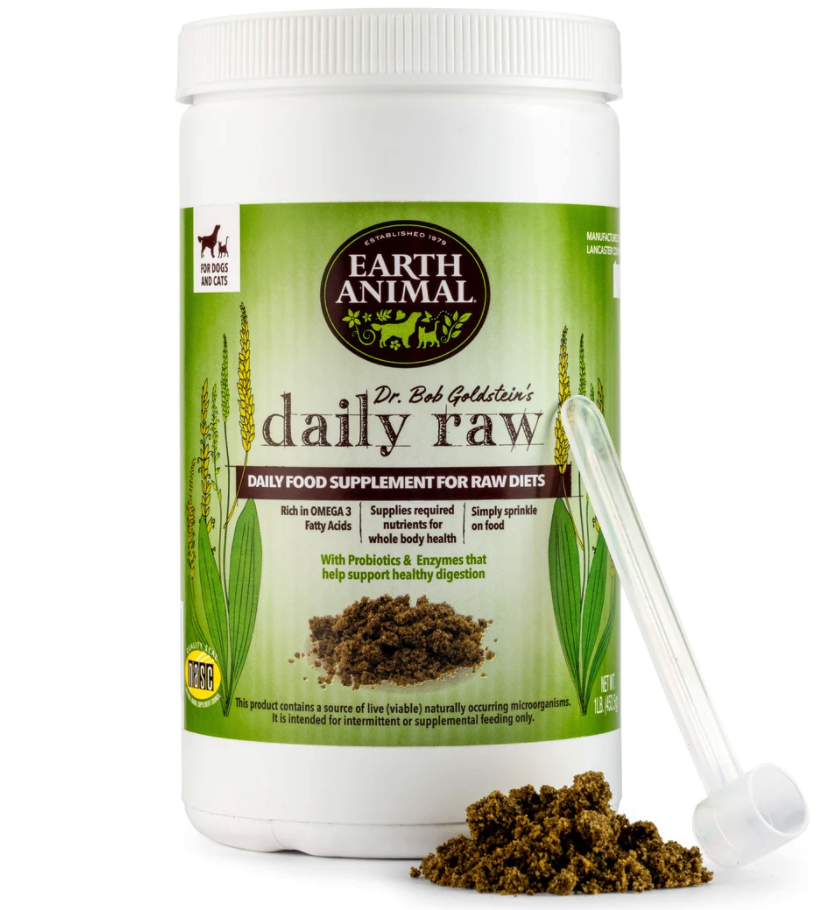 daily raw dog supplements